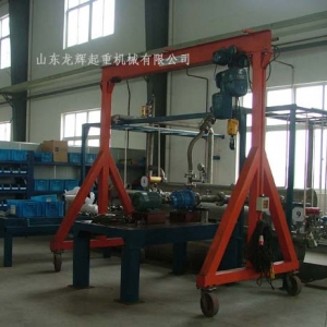 MS型-简易手推门架式起重机 MS type simple hand push gantry crane